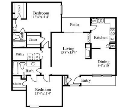 2 Beds - Summer Villas at 17717 Preston Road in Dallas TX is a Apartment