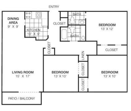 3 Beds - Riverwood Apartment Homes at 3649 173rd Court in Lansing IL is a Apartment