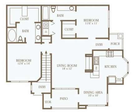 2 Beds - The Park on Bluebonnet at 8008 Bluebonnet Boulevard in Baton Rouge LA is a Apartment