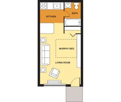 Studio - Pine Ridge Apartments at 100 Pine Ridge Dr in Oakdale PA is a Apartment