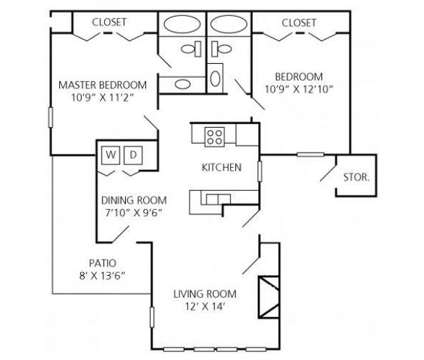 2 Beds - Windemere Apartments at 2105 Ravenglass Place in Raleigh NC is a Apartment