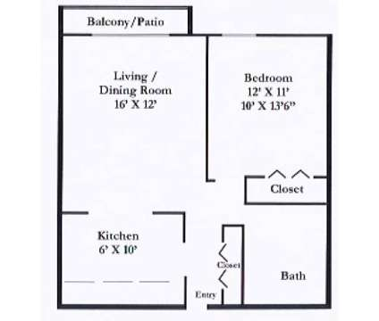 1 Bed - Park Forest at 3300 Spirea Ct in Jackson MI is a Apartment