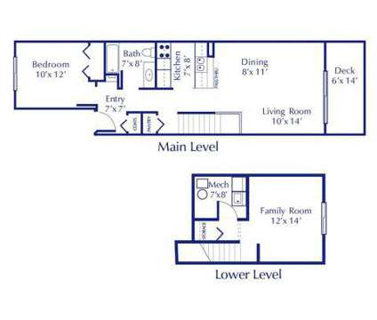 1 Bed - Silver Stone Townhomes at 5639 S Martin Luther King in Lansing MI is a Apartment