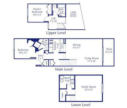 2 Beds - Silver Stone Townhomes at 5639 S Martin Luther King in Lansing MI is a Apartment