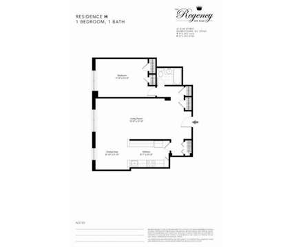 1 Bed - The Regency on Elm at 41 Elm St in Morristown NJ is a Apartment