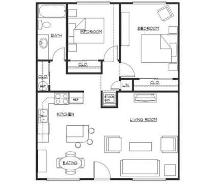 2 Beds - Cedar Court Apartments at 3005 S 47th St in Tacoma WA is a Apartment
