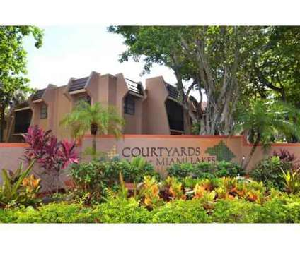 2 Beds - Courtyards at Miami Lakes at 6431 Cow Pen Road in Miami Lakes FL is a Apartment