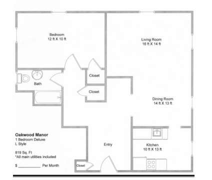 1 Bed - Oakwood Manor Apartments at 547 Cherry St Se in Grand Rapids MI is a Apartment
