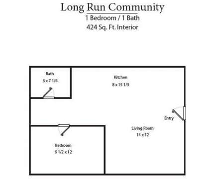 1 Bed - Long Run Community Apartments at 301 Hill-n-dale in Danville KY is a Apartment