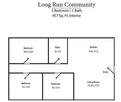 3 Beds - Long Run Community Apartments at 301 Hill-n-dale in Danville KY is a Apartment