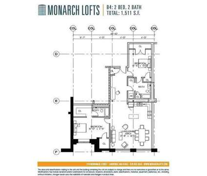 2 Beds - The Riverwalk Lofts at 210 Merrimack St in Lawrence MA is a Apartment
