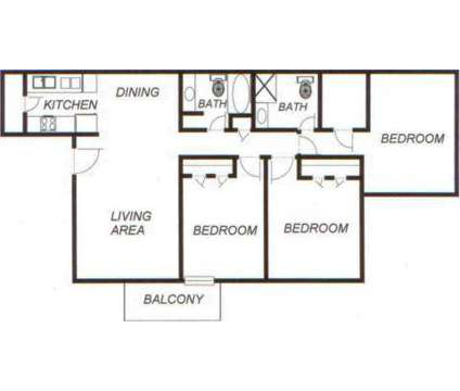 3 Beds - Oak Park At Nations Ford at 103 Dinaden Dr in Charlotte NC is a Apartment