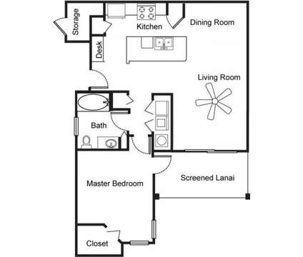 1 Bed - The Lakes at Collier Commons at 22743 Preakness Blvd in Land O Lakes FL is a Apartment