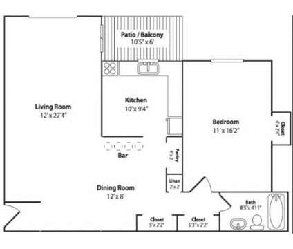 1 Bed - Penn Crest Apartments at 2020 Fairmont St in Allentown PA is a Apartment