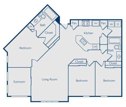 3 Beds - Pavilion at Lake Eve at 12515 Lake Square Cir in Orlando FL is a Apartment