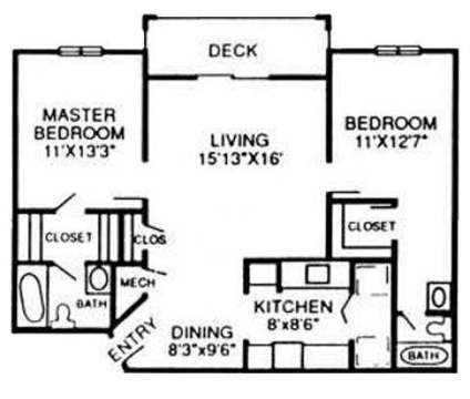 2 Beds - Elements of Chattanooga at 7310 Standifer Gap Rd in Chattanooga TN is a Apartment