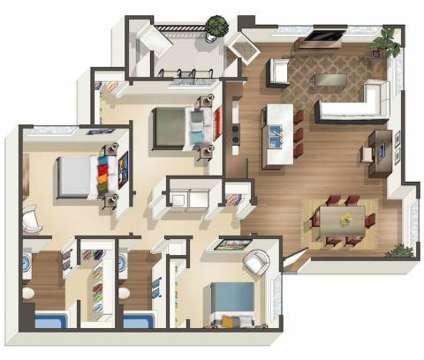 3 Beds - Olympus Encantada at 6401 Santa Monica Avenue Ne in Albuquerque NM is a Apartment
