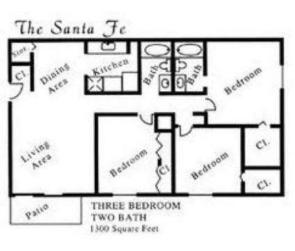 3 Beds - Aztec Village at 4321 Montgomery Boulevard Ne in Albuquerque NM is a Apartment