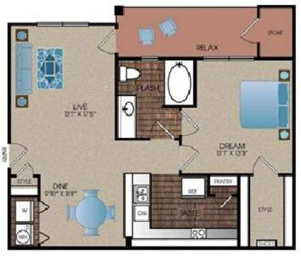 1 Bed - Ladera Apartment Homes at 7500 South Ih-35 in Austin TX is a Apartment