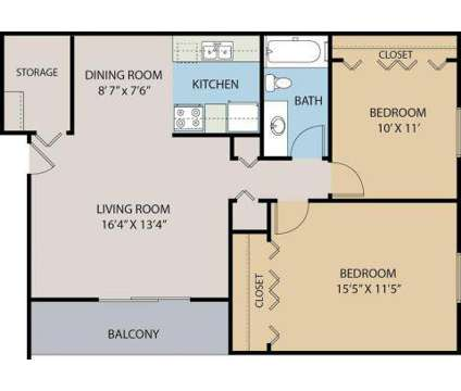 2 Beds - Clinton Manor Apartments at 24666 Katherine Court in Harrison Township MI is a Apartment