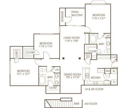 3 Beds - Elysian at Vinings at 2158 Cumberland Parkway in Atlanta GA is a Apartment
