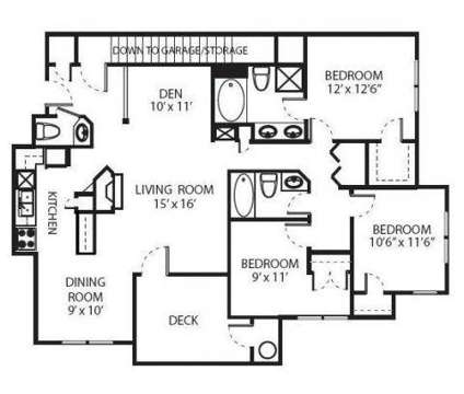 3 Beds - The Lexington at 510 Old Hickory Boulevard in Nashville TN is a Apartment