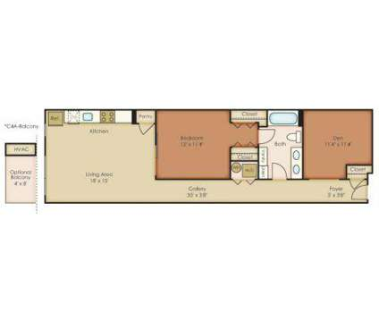 1 Bed - The Granary at 1901 Callowhill St in Philadelphia PA is a Apartment