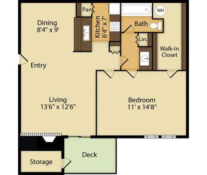 1 Bed - Copper Mill at 10000 N Lamar Boulevard in Austin TX is a Apartment