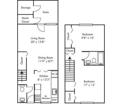 2 Beds - Cambridge Apartments at 5109 Goldsboro Dr #2c in Hampton VA is a Apartment