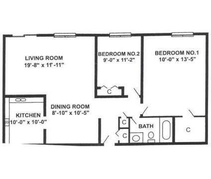 2 Beds - Pebblewood Court at 2321 Walnut Avenue in Bartlett IL is a Apartment