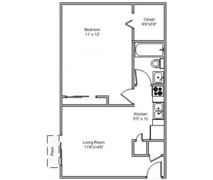 1 Bed - Crown Crossing at 1762 Culver Court in Amelia OH is a Apartment