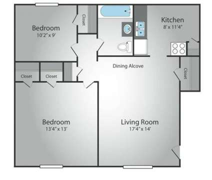 2 Beds - Skyline Apartments at 20 Terrace Avenue in Hasbrouck Heights NJ is a Apartment