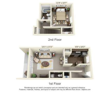 1 Bed - Jamestown at St. Matthews at 902 Markham Ln in Louisville KY is a Apartment