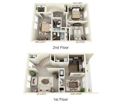 3 Beds - Jamestown at St. Matthews at 902 Markham Ln in Louisville KY is a Apartment