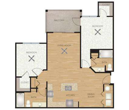 2 Beds - Sea Isle Resort Apartments at 6801 Sea Coral Dr in Orlando FL is a Apartment