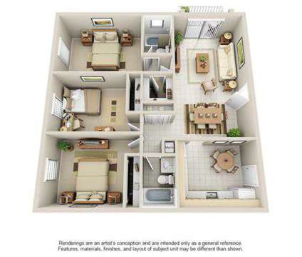 3 Beds - Harbour Key at 11033 N Kendall Dr in Miami FL is a Apartment