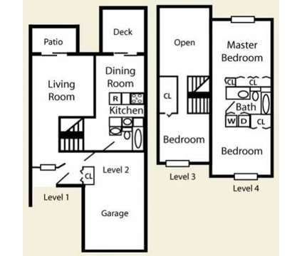 3 Beds - Harbor Pointe Apartment Homes at 9200 N 75th St in Milwaukee WI is a Apartment