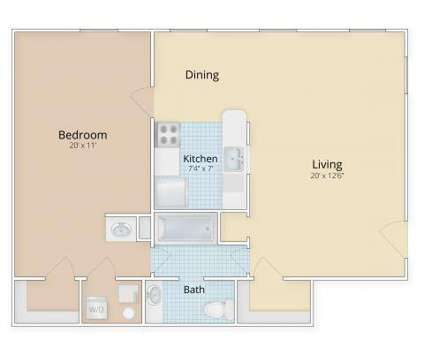 1 Bed - Patuxent Place at 531 Main St Suite 101 in Laurel MD is a Apartment