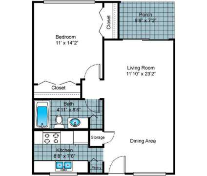 1 Bed - Imperial Gardens at 2100 Nursery Road in Clearwater FL is a Apartment