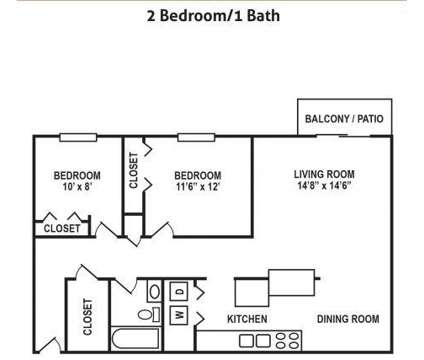 2 Beds - Concord Woods Apts at 44 Concord Woods Drive in Milford OH is a Apartment