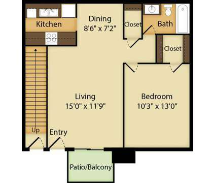 1 Bed - Raindance Apartments at 2201 Northwest 122nd St in Oklahoma City OK is a Apartment