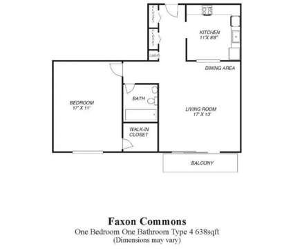 1 Bed - Faxon Commons at 1037 Southern Artery in Quincy MA is a Apartment