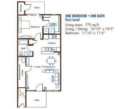 1 Bed - Stoneridge Apartments at 716 East 56th St in Kearney NE is a Apartment