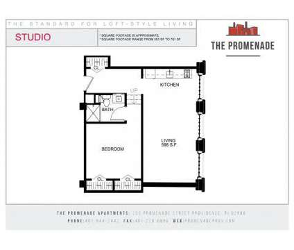 Studio - The Promenade (located at the Foundry) at 255 Promenade St in Providence RI is a Apartment