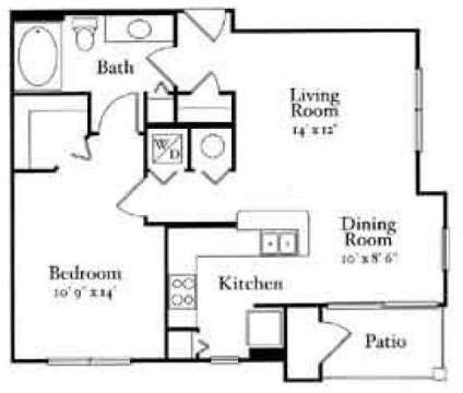 1 Bed - Enclave at Webster Park at 2640 Martin Luther King Jr Drive in Atlanta GA is a Apartment