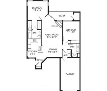 2 Beds - The Sanctuary at 2200 S Clubhouse Drive in New Berlin WI is a Apartment
