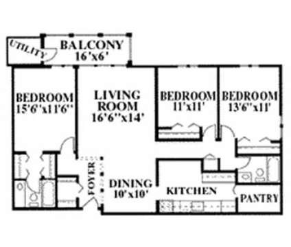 3 Beds - Willow Creek Apartments at 3707 Greenleaf Cir in Kalamazoo MI is a Apartment