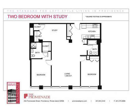2 Beds - The Promenade (located at the Foundry) at 255 Promenade St in Providence RI is a Apartment