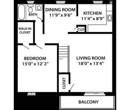 1 Bed - Troy Hills Village at 1480 Us Hwy 46 West in Parsippany NJ is a Apartment