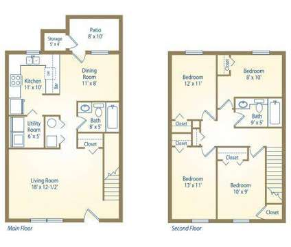 4 Beds - Hidden Hills at Oakdale at 2201 S Oakdale Dr in Bloomington IN is a Apartment